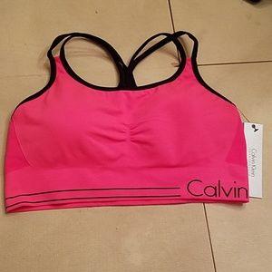 NWT size XXL Calvin klein sports bra